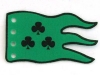 flag-green-3-black-clubs-outlined
