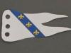 flag-white-3-yellow-fleur-de-lis-on-blue-stripe